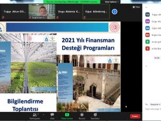 Doğu Akdeniz Kalkınma Ajansı Tarafından 2021 Yılı Seracılığın Geliştirilmesi Finansman Desteği Programı (SERADES) ve 2021 Yılı Turizmin Geliştirilmesi Finansman Desteği Programı (TUDES) Kapsamında Online Açılış ve Bilgilendirme Toplantısı Gerçekleştirildi Galeri