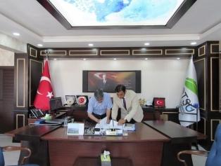 Hatsu Hatay Su ve Kanalizasyon İdaresi ile Teknik Destek Sözleşmesi imzalandı. Galeri