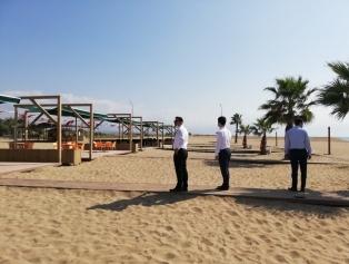 Ajansımız Desteğiyle Yapılan Erzin Burnaz Plajı Faaliyete Geçmiştir. Galeri