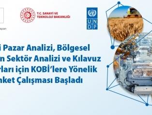 Yeni Pazar Analizi, Bölgesel Kırılgan Sektör Analizi ve Kılavuz Raporları için KOBİ'lere yönelik anket çalışması başladı.  Galeri